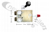 03244610 Keith Walking Floor® RFII & Workhorse Control Valve Assembly.