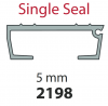 8221984308 Keith Walking Floor Plank / Slat 5mm/97mm Ribbed Single Seal 13.3m Length Supplied without seal or endcap.