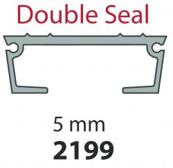 8221994308 Keith Walking Floor Plank / Slat 5mm/97mm Ribbed Double Seal 13.3m Length Supplied without endcap or seal.